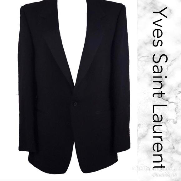 101e4d793f2 Yves Saint Laurent Suits & Blazers | Ysl Tuxedo Jacket | Poshmark